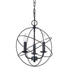 Cornerstone Williamsport 3 Light Chandelier In Oiled Rubbed Bronze
