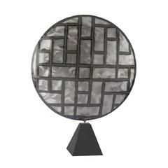 Parquetry in Metal Sculpture