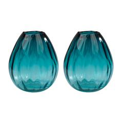 Aqua Ombre Vase
