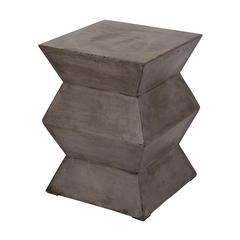 Lazy Susan Fold Cement Stool