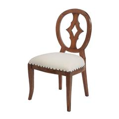 Cutout Back Chair