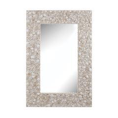 Lazy Susan Shell Wall Mirror