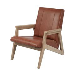 Lazy Susan Angular Modern Lounge Chair