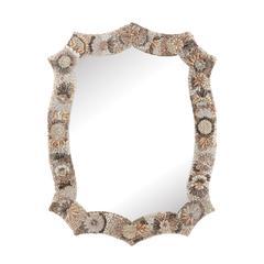 Long Antoinette Shell Mirror