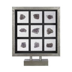 Natural Mineral Table Top Display