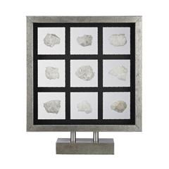 Lazy Susan Sea Shell Table Top Display