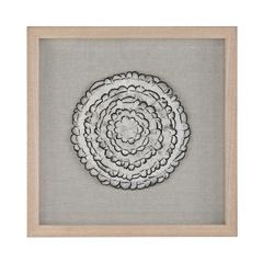 Feather Swirl Wall Decor