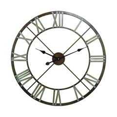 Sterling Open Center Iron Wall Clock