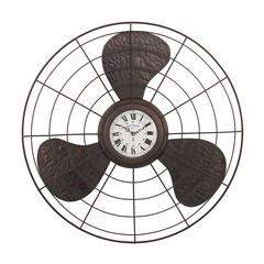 Antique Fan Clock