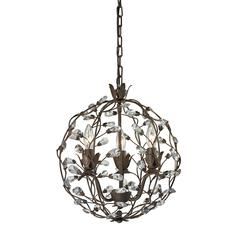 ELK lighting Sagemore 3 Light Pendant In Bronze Rust