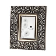 Lazy Susan Hand Carved Ornate Frame - 4 X 6