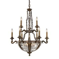 Millwood 15 Light Chandelier In Antique Bronze