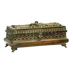 Decorative Pierced Glove Box