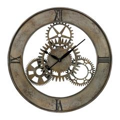 Industrial Cog Wall Clock By