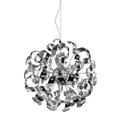 Odyssey 13 Light Chandelier In Polished Chrome