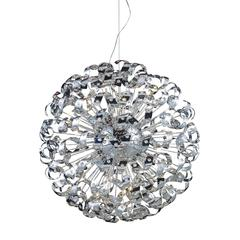 Odyssey 42 Light Chandelier In Polished Chrome