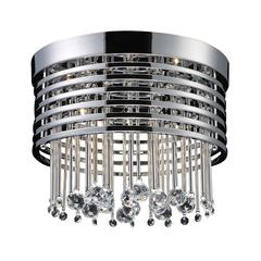 Rados 5 Light Flushmount In Polished Chrome