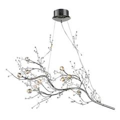 ELK lighting Viviana 10 Light Chandelier In Polished Chrome