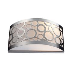 ELK lighting Retrovia 2 Light Wall Sconce In Polished Nickel