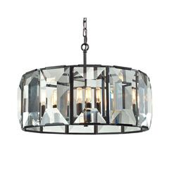 Garrett 6 Light Pendant In Oil Rubbed Bronze