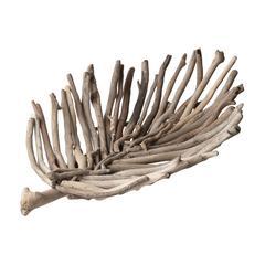 Driftwood Leaf Tray - Lg
