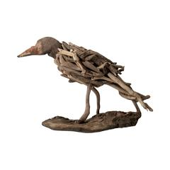 Lazy Susan Driftwood Bird