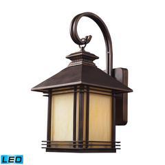 Blackwell 1 Light Outdoor LED Sconce In Hazelnut Bronze