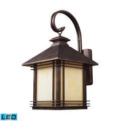 ELK lighting Blackwell 1 Light Outdoor LED Sconce In Hazelnut Bronze