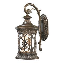 ELK lighting Orlean 1 Light Outdoor Sconce In Hazelnut Bronze