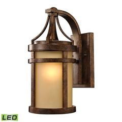 Winona 1 Light Outdoor LED Sconce In Hazelnut Bronze