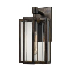 ELK lighting Bianca 1 Light Outdoor Sconce In Hazelnut Bronze