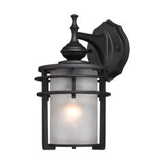 ELK lighting Meadowview 1 Light Outdoor Sconce In Matte Black