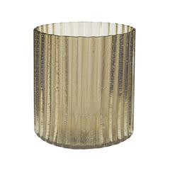 Champagne Fizz Fluted Votive - Small