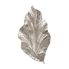 Lazy Susan Silver Leaf Wall Art