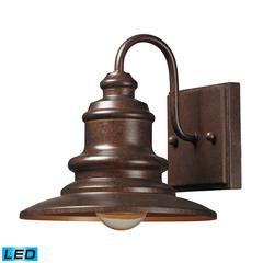 ELK lighting Marina 1 Light Outdoor LED Sconce In Hazelnut Bronze