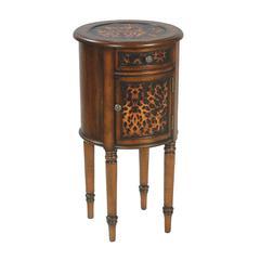 Leopard Drum Table