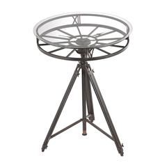 Sterling Tripod Clock Table