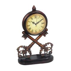 Sterling Key Clock ( 1- Aa Battery Not Included)