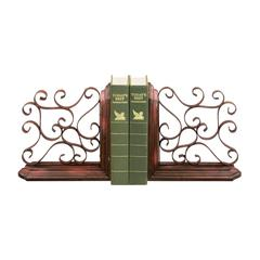 Sterling Pair Chatham Bookends