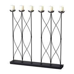 Contemporary 6 Candle Holder