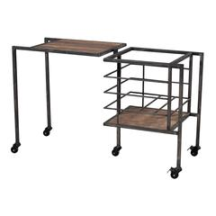 Sterling Industrial Fold Away Storage Bench