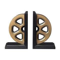 Sterling Movie Reel Book Ends