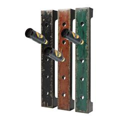 Set Of 3 Wall Hanging Wine Racks