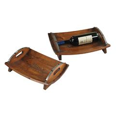 Sterling Set Of 2 Moms Vineyard Trays