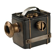 Sterling Antique Camera Decorative Display