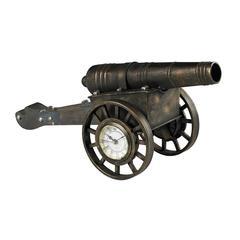 Cannon Desk Clock