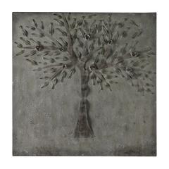 Cherry Tree In Winter White