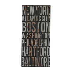 American Cities 1-American Cities Wall Décor I