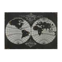 World Map-Laser Cut Map Of The Globe