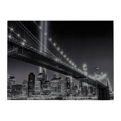 Sterling Williamsburg Bridge-Williamsburg Bridge Image Printed On Glass